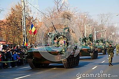 Military parade Editorial Stock Photo