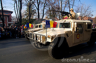 Military parade Editorial Stock Image