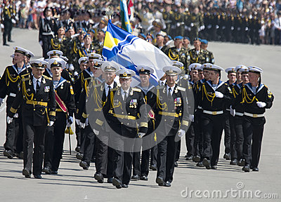 Military Parade of Victory Day Editorial Image