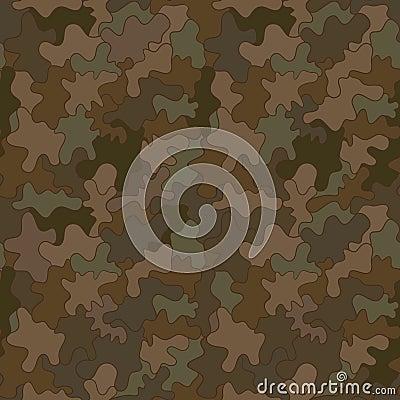 Military pattern seamless