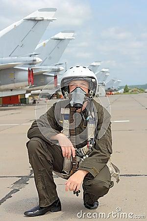 Free Military Pilot Stock Photos - 27329273