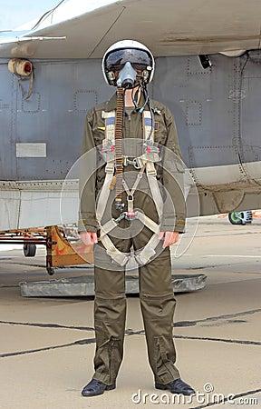 Free Military Pilot Stock Photo - 27329490