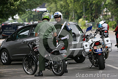 Military Police Editorial Photo