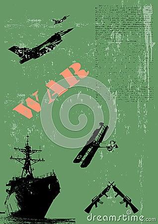 Military Poster Illustration
