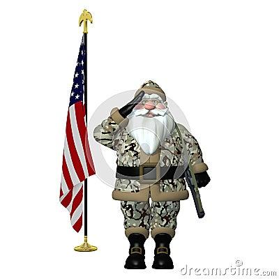 Military Santa