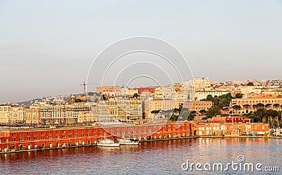Military Ships in Naples Port
