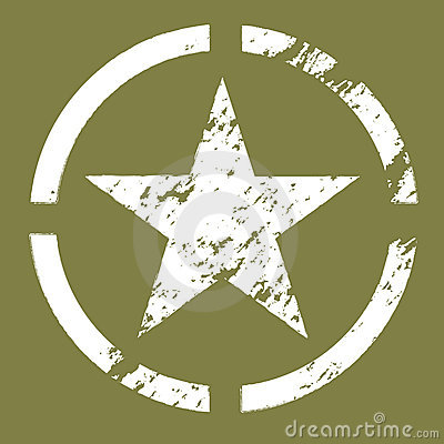 Free Military Star Symbol Royalty Free Stock Photo - 3145525