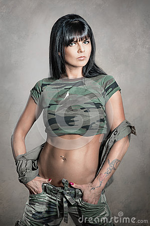 Free Military Style Stock Photography - 40863762