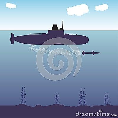 Military submarine