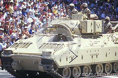 Military Tank Editorial Stock Photo