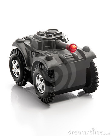 Free Military Tank Toy Stock Image - 20390871