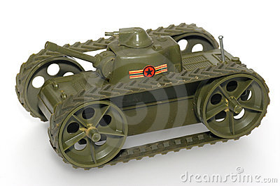 Military toy tank