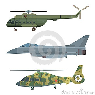 Free Military Transport Vector Helicopter Technic Army War Plane And Industry Armor Defense Transportation Weapon Royalty Free Stock Photography - 112712727