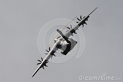 Military transporter Airbus A400M Editorial Photography