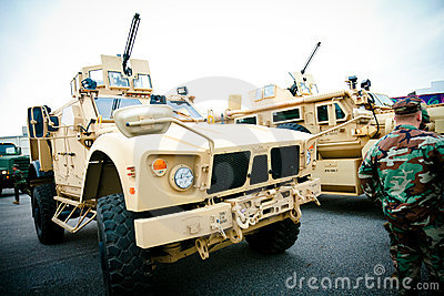 Military Vehicle Editorial Photography
