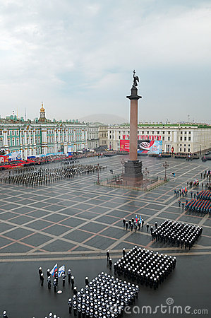 Military Victory parade. Editorial Photo