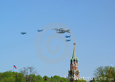 Military Victory parade Editorial Image