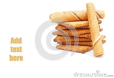 Milk biscuit cakes