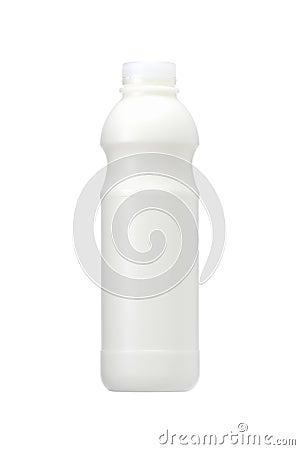 A milk bottle