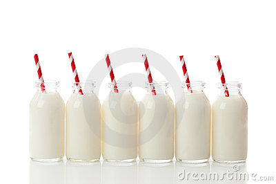 Milk Bottle Row