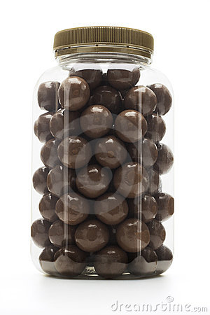 Free Milk Chocolate Coated Nuts Stock Photos - 12949063