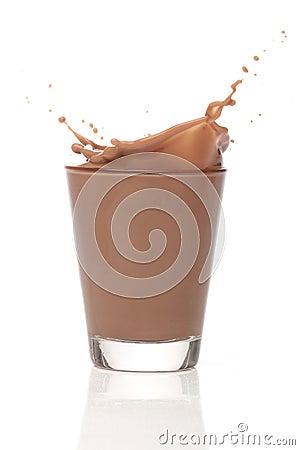 Free Milk Chocolate Splah Stock Photos - 22253033
