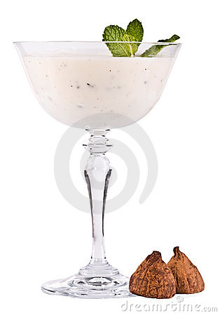 The milk cocktail