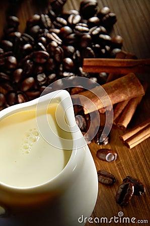 Milk For Coffee Beverage