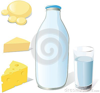 Milk and dairy food