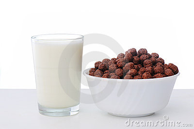 Milk, flakes, childhood