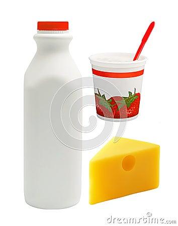 Free Milk Group Royalty Free Stock Photo - 369765