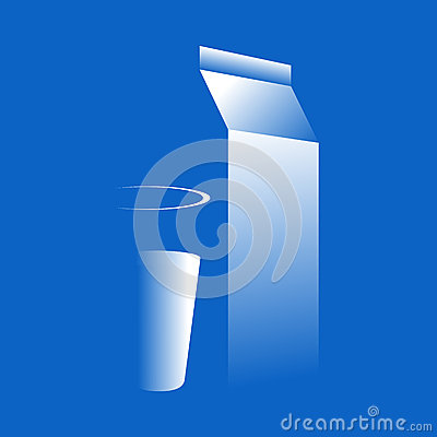 Milk illustration