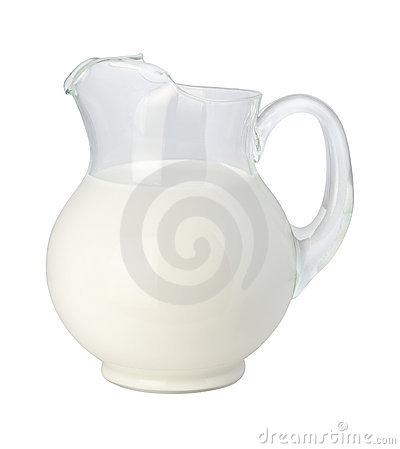 Milk Pitcher (with clipping path)
