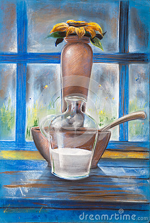 Milk and Pottery
