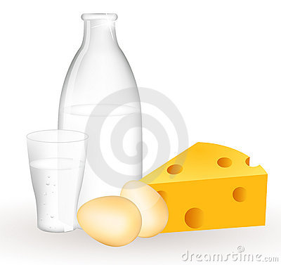 Milk products and eggs