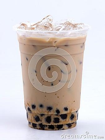 Free Milk Tea With Bubble Stock Photo - 30196960