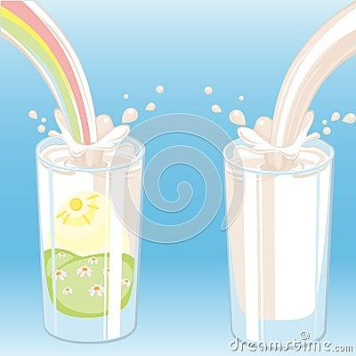 Milk vektor