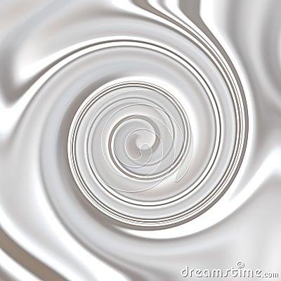 Milk ,Whipped or White Yoghurt Cream Swirly