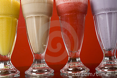 Milkshakes Close-Up