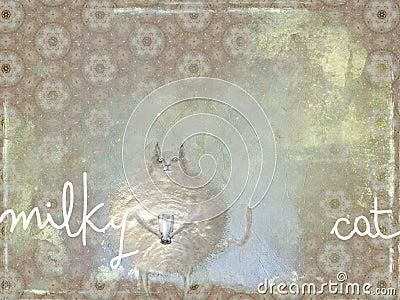 Milky cat
