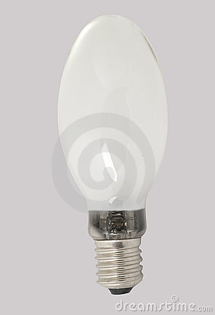 Milky light bulb