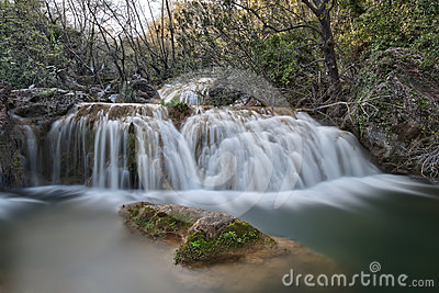 Milky Smooth Waterfall