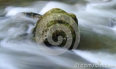 Milky water torrent