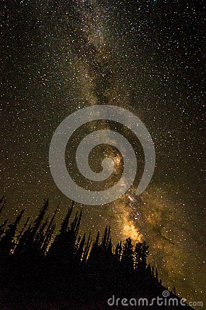 Free Milky Way At Cedar Breaks Royalty Free Stock Image - 89088316