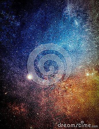 Milky Way Core Stock Photo