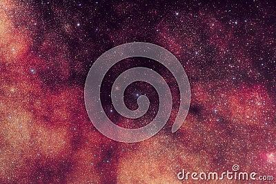 Milky Way Space Stars