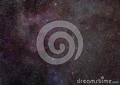 Milky Way stars space
