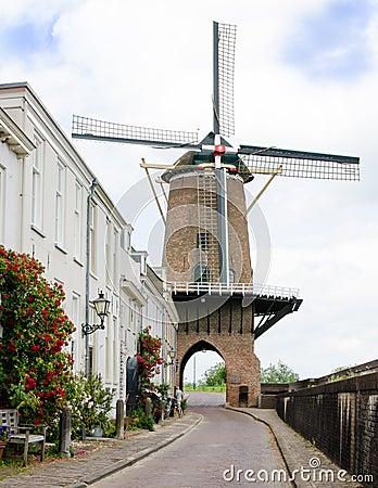 Free Mill Rijn En Lek Stock Photography - 27923152