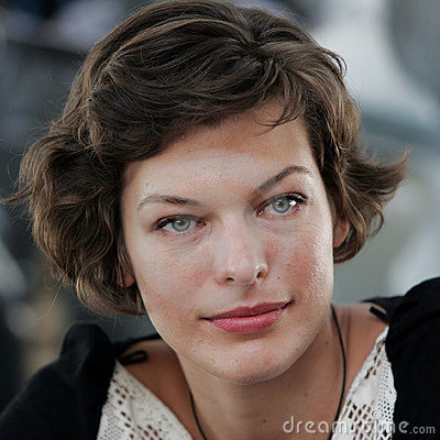 Milla Jovovich Editorial Photo