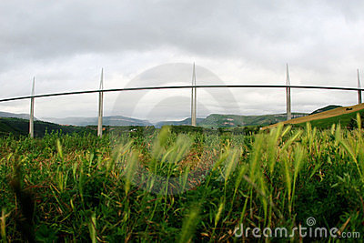 Millau Viaduct Editorial Image